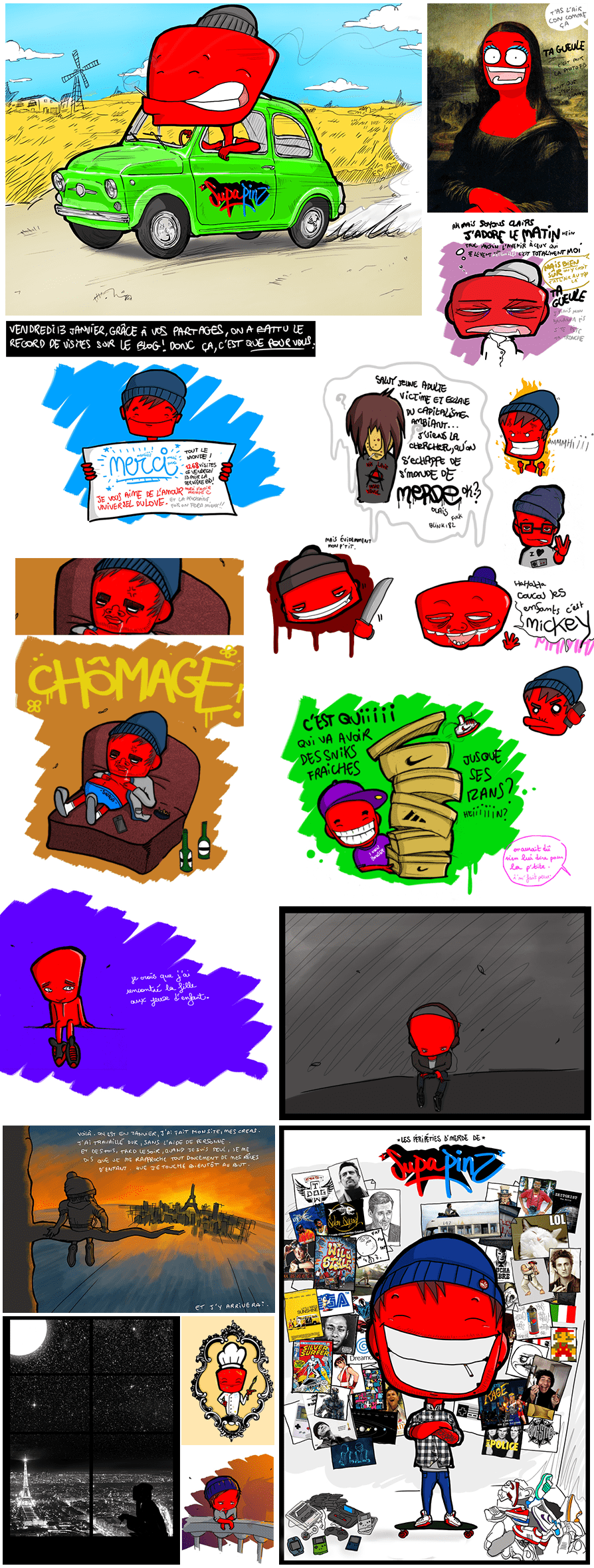 Comic-strip-Supapinz-showcase