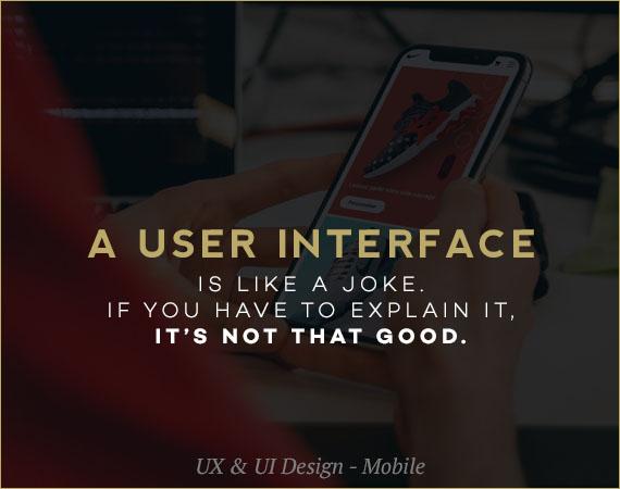 UX & UI Design – Mobile