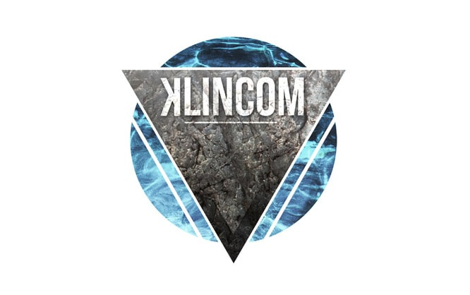 logo-design-dj-klincom-techno-music