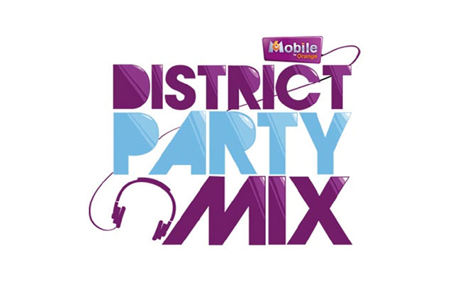 logo-design-m6-mobile-district-party-mix-by-orange