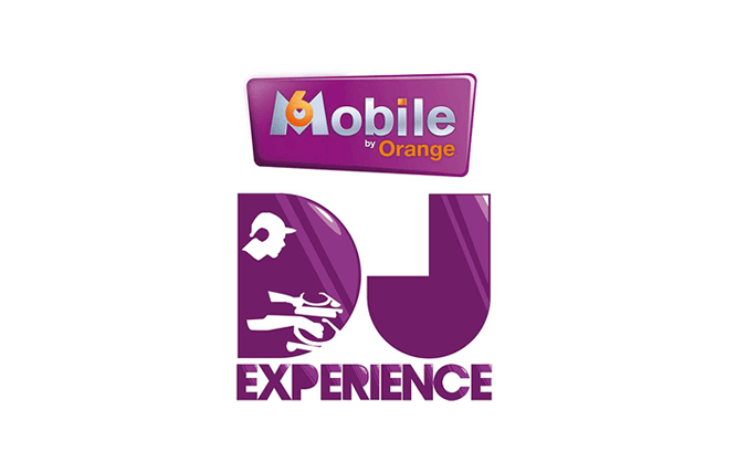 logo-design-m6-mobile-dj-experience-by-orange