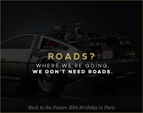 Back to the Future 30th Birthday in Paris