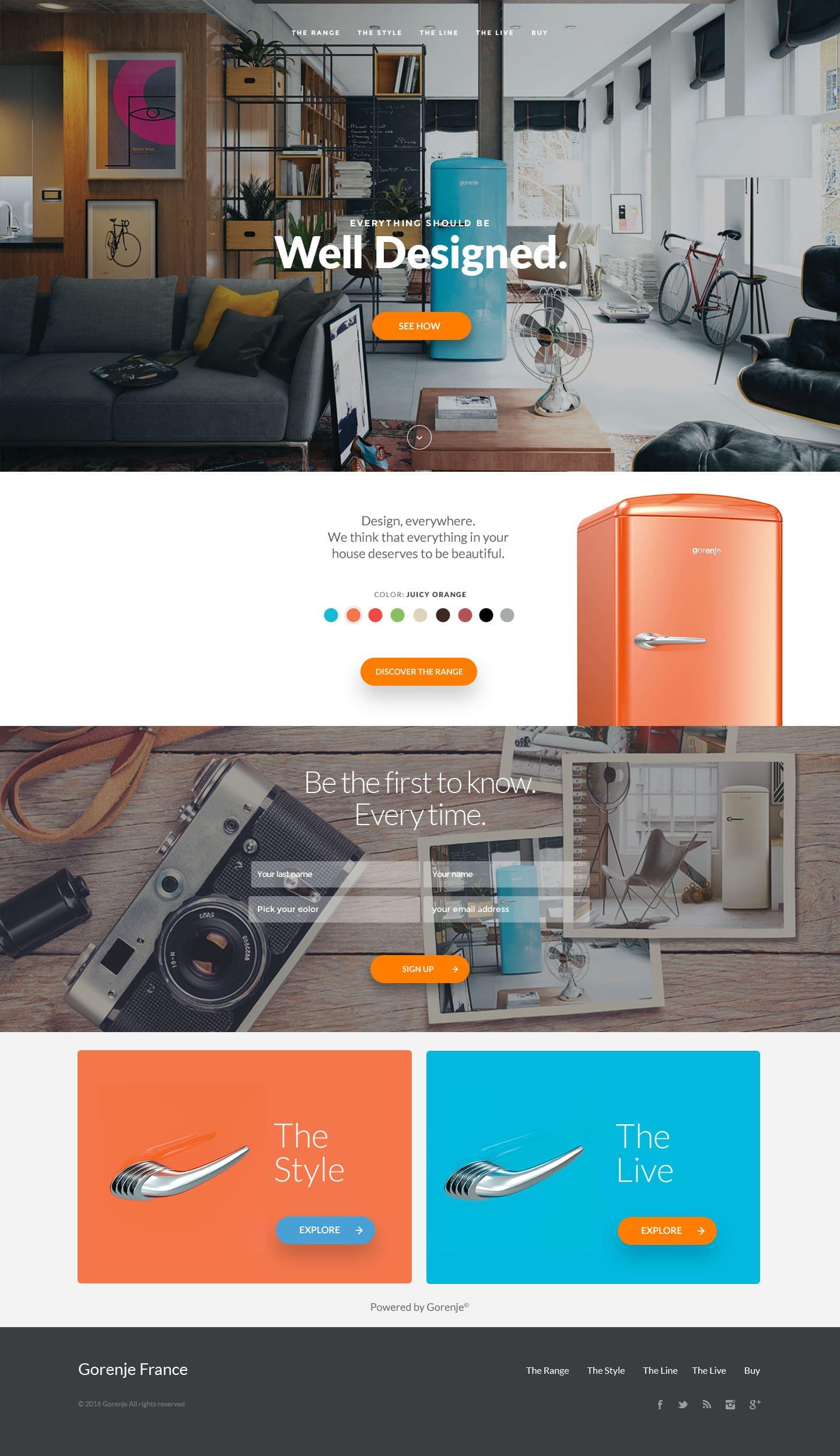Gorenje-UI-design