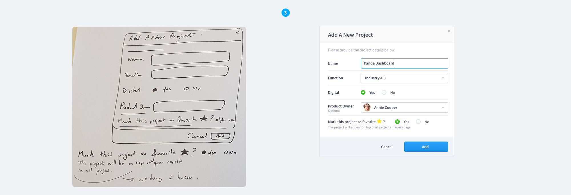 Add-a-new-project-UX-wireframes-UI-mockup